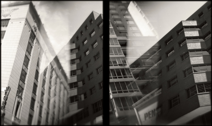 double exposure_diptych