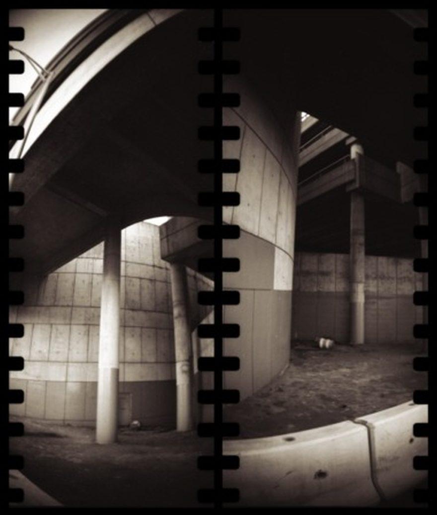 garage diptych